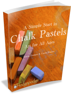 A Simple Start in Chalk Pastels