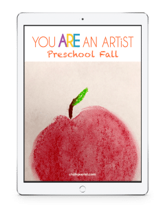 Your youngest artists will love these preschool fall video art lessons! Create easy, fun chalk pastel paintings while learning chalk pastels.