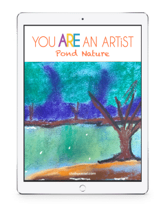 All it takes is a starter set of chalk pastels, construction paper (or your nature journal!) and Nana's video art lessons to capture the beauty of pond nature! No expensive, intimidating list of art supplies. Pond Nature is a wonderful stand alone art curriculum or a perfect complement to your nature study learning.