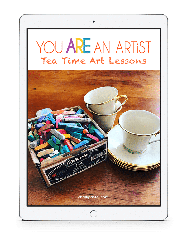Make tea time a wonderful and celebratory time with Nana's Tea Time Art Lessons. Grab your favorite book of poetry or your current read aloud!