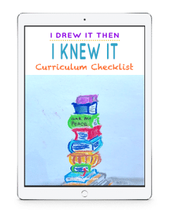 Matching Nana's You ARE an Artist video art lessons to your homeschool history and science curriculum just got so much easier! Each homeschool curriculum match up checklist includes a listing of lessons from the four eras of history.