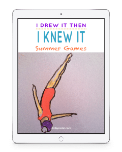 Complement your homeschool art learning with Summer Games Video Art Lessons and an I Drew It Then I Knew It approach. You will learn you ARE an artist!