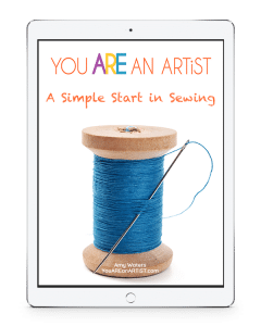 What is sewing? Who can sew? Why would you want to sew? How can you make a simple start in sewing? We begin with A simple start… because anyone can sew.